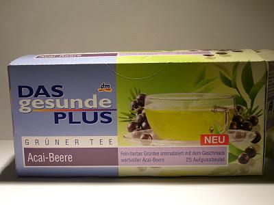 Tea Of The Day | Tee des Tages | Grüner Tee Acai Beere von dm |