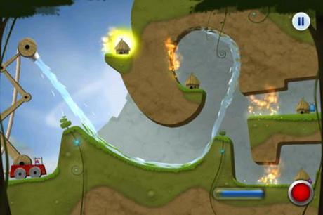 Sprinkle: Water splashing fire fighting fun! Cooles Puzzle mit sehr realistischer Physik