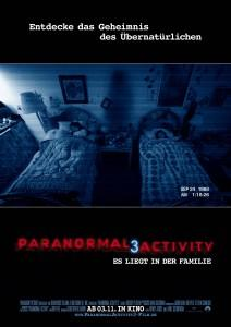 Paranormal Activity 3 Filmplakat