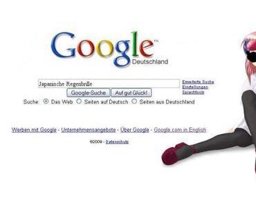 Google Suche: Japanische Regenbrille