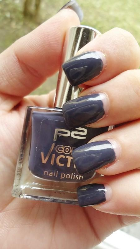 Swatch: P2 Color Victim Nail Polish - 541 Night Out