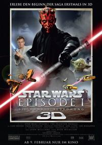 Trailer zu 'Star Wars – Episode I' 3D-Start