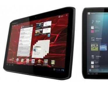 Motorola stellt Xoom 2 und Xoom 2 Media Edition vor.
