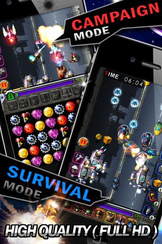 Starforce – Gute Kombination aus Action, Match-3, Puzzle und Tower-Defense