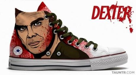 DEXTER HBO Converse All Star Chucks Edition