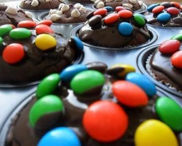 Rotwein-Schoko-Muffins