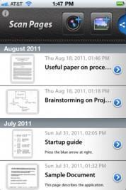 Scan Pages – verwandeln Sie Ihr iPhone in einen mobilenScanner