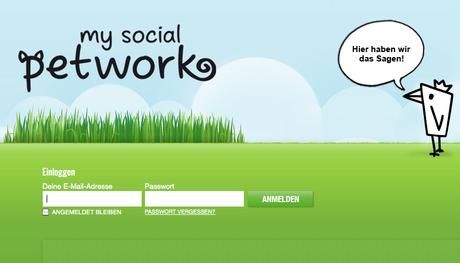 Soziales netzwerk für tiere my social petwork
