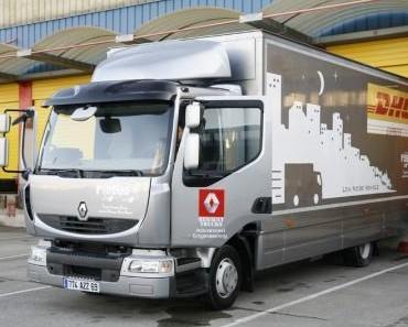 Elektro LKW von Renault im Test