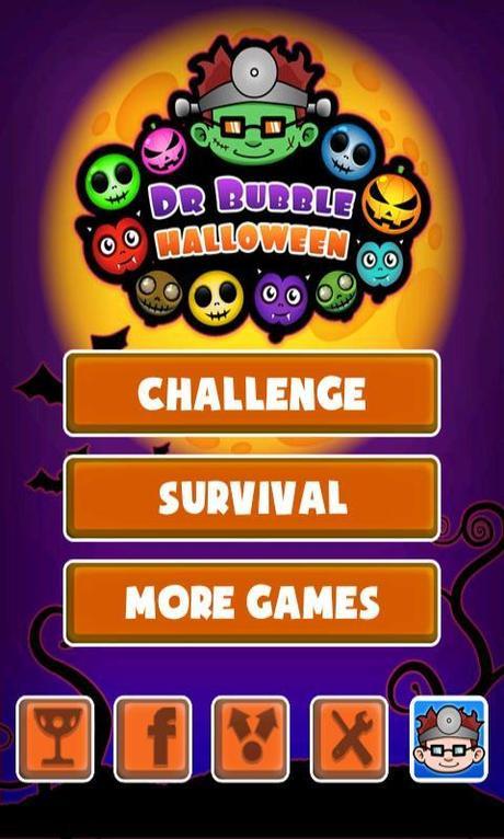 Ein zeitloses spiel: doctor bubble halloween