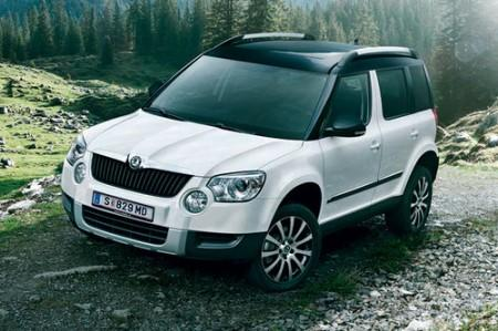 sondermodell von skoda der yeti twenty. Black Bedroom Furniture Sets. Home Design Ideas