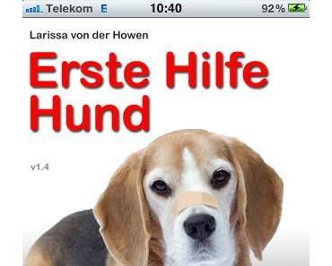 Erste Hilfe Hund – App kaufen oder verschenken und gleichzeitig Straßenhunde retten