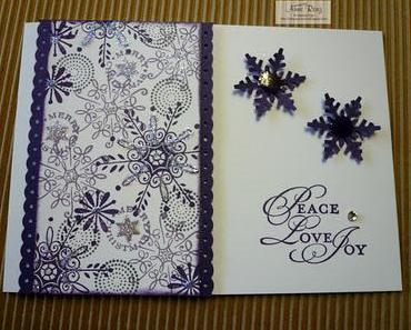 Rückblick Workshop Weihnachtskarten I.