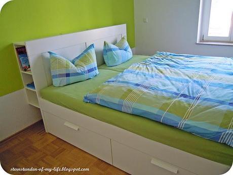 neue wohnung vorher nachher schlafzimmer. Black Bedroom Furniture Sets. Home Design Ideas