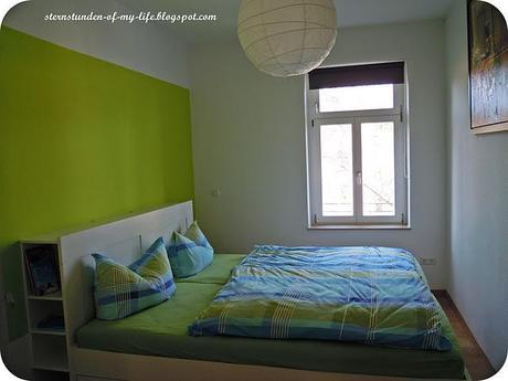 Neue wohnung vorher nachher schlafzimmer for Innendekorateur finden