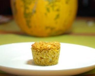Kürbiskuchen-Mini-Muffins