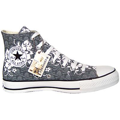 Totenkopf #Skull #Converse All Star Chucks 1X138 HI