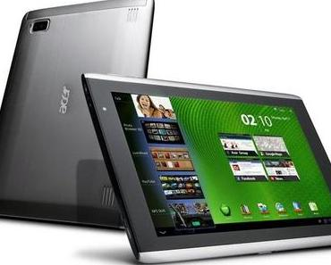 Neue Details zu Acers Tegra 3-Tablets Iconia Tab A510 und A511.