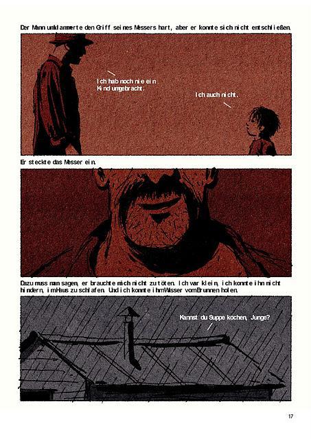 Der Mörder weinte - über die Zähmung einer Bestie.