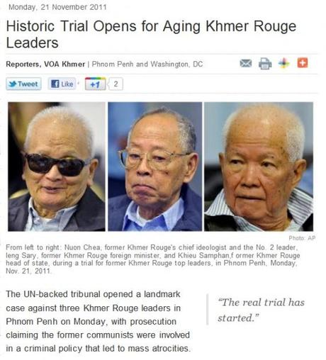 Cambodia: Will Justice begin for Victims of Khmer Rouge?