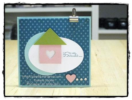 VIP-Donnerstag ~ # 46/2011 ~ Tri Fold pocket card …….