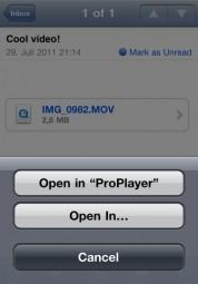 ProPlayer – der Videoplayer spielt zum Black Friday Preis auf iPad, iPhone, iPod touch alle Video-Formate ab