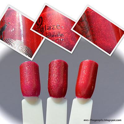Vergleich: Catrice Marilyn & Me, Catrice Lovely Sinner & China Glaze Ruby Pumps