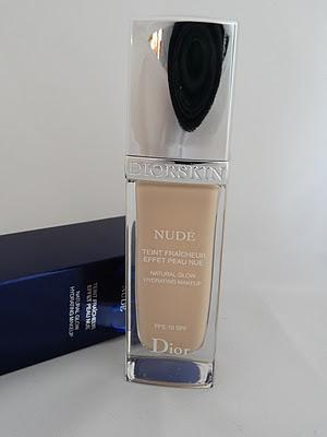 Review: Diorskin Nude Fluid Foundation