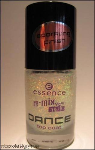 essence remix your style top coat waking up in vegas