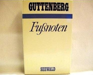 Manchmal kommen sie wieder: Wie Guttenberg sich selbst als doofen Zombie enttarnte