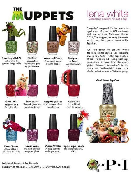 Spotted: New OPI-Collection