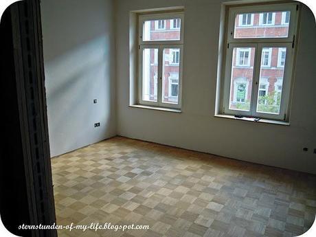 neue Wohnung] Vorher-Nachher Wohnzimmer
