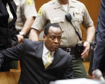 Conrad Murray: Michael Jackson's Leibarzt muss vier Jahre ins Gefängnis