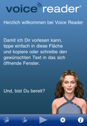 VoiceReader Text to Speech – Vorlese-App für iPad, iPhone mit professioneller Sprachausgabe