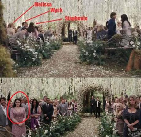 Stephenie Meyer Cameo-Auftritt in Breaking Dawn