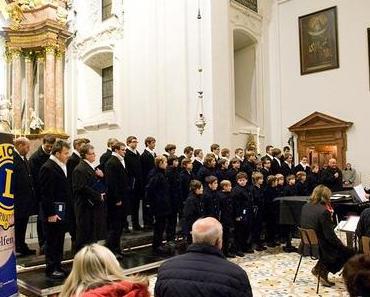 Florianer Sängerknaben beim Mariazeller Advent