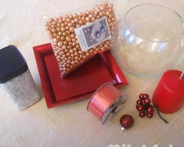 •○°Weihnachtsserie - weihnachtliche Dekoidee im Glas°○•