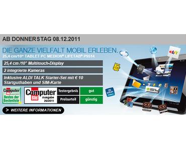 Medion Life Tab mit UMTS für 399 Euro bei Aldi
