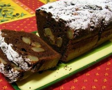 Schoko-Birnen-Cake