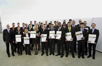 Volkswagen Konzern ehrt seine weltweit besten Auszubildenden