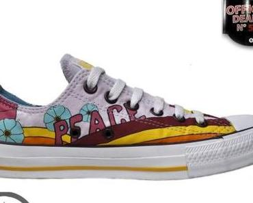 #Converse All Star Chuck Taylor OX Chucks Multi Color #Love + Peace
