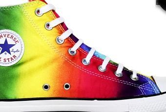 b58d6c94bb15  Converse Schuhe Chuck Taylor All Star Chucks 105447 Multi Color  Rainbow HI   Gay