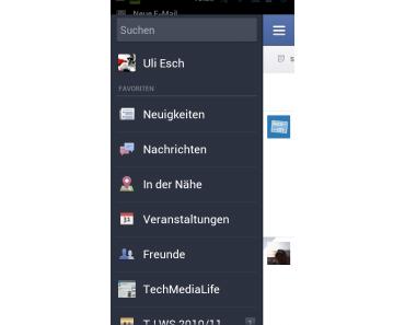 Umfangreiches Update für die Facebook Android App