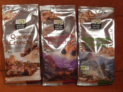 Crunchy Müslikreationen von Whole Earth im Test