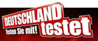 Deutschland testet im Dezember
