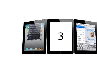 iPad 3 Release im März 2012?