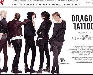 h&m; Dragon Tattoo Kollektion