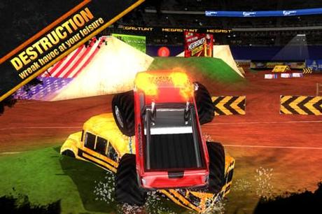MEGASTUNT  Mayhem Pro – Krasse Trucks, coole Stunts und viel Action