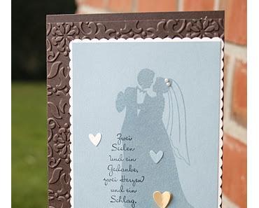 Ich brauch mal schnell eine Hochzeitskarte