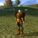 Perfect World MMORPG Blademaster Gold Rüstung
